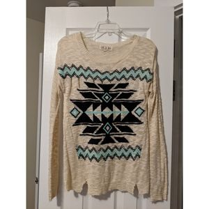 | tribal sweater |